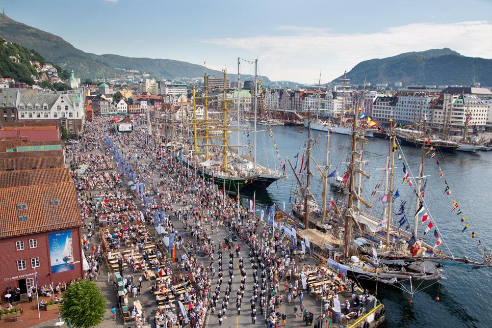 Bergen Crew Parade, Tall Ships Races 2014