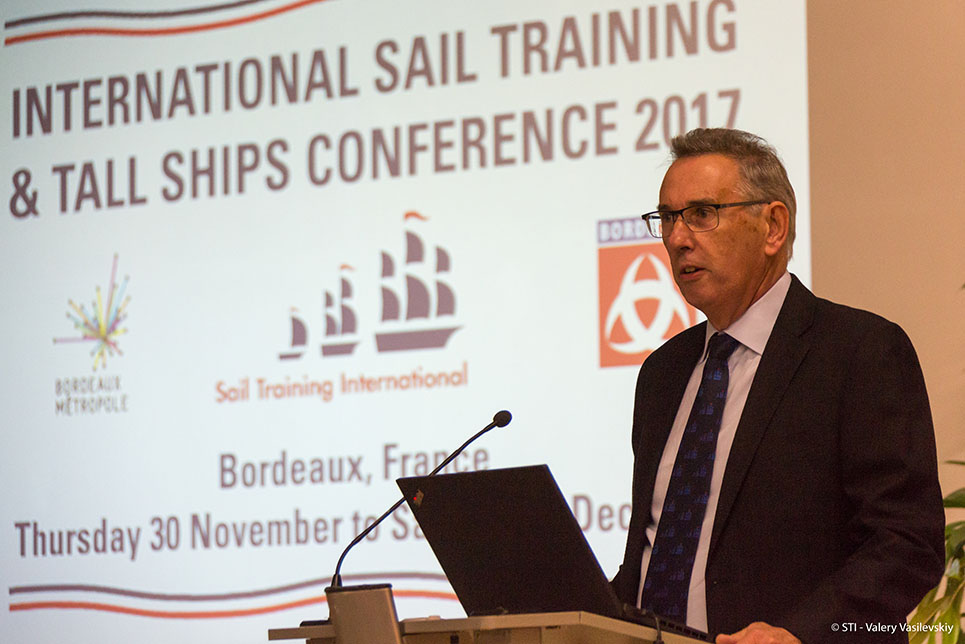International Sail Training and Tall Ships Conference 2017 CEO Gwyn Brown