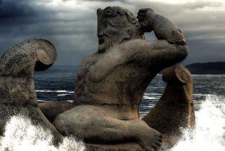 The statue of Hercules at A Coruna